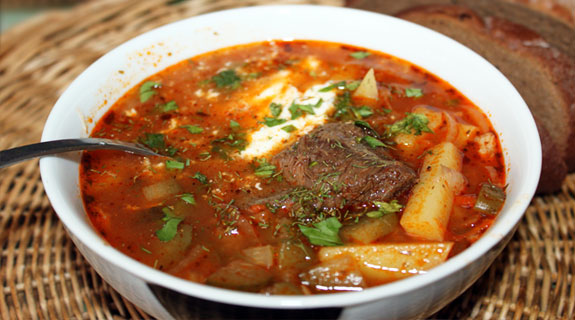 Рассольник с мясом и рисом рецепт с пошагово