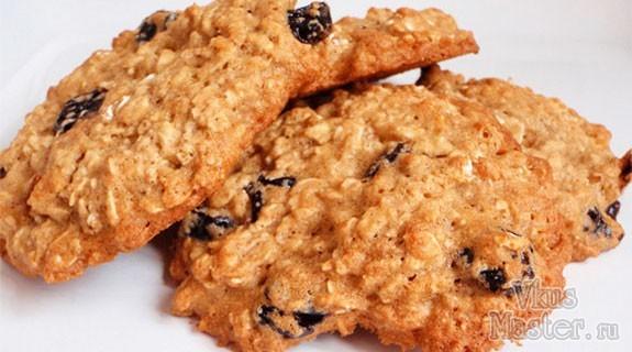 Рецепт овсяное печенье домашнее
