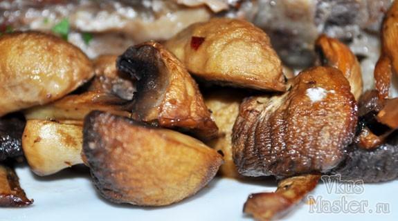 Маринованные шампиньоны в духовке рецепт
