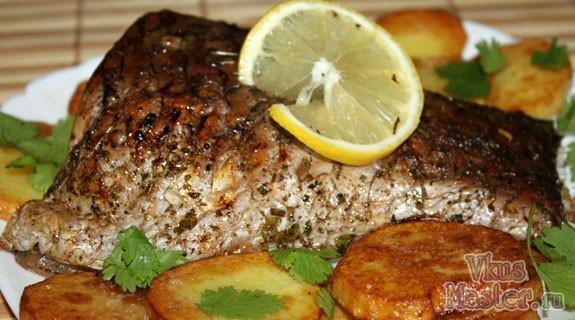 рецепт рыбы белого амура в духовке